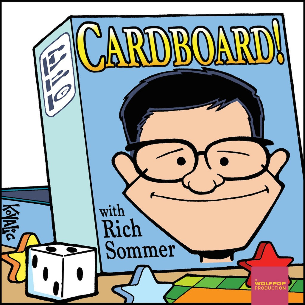 Cardboard with Rich Sommer